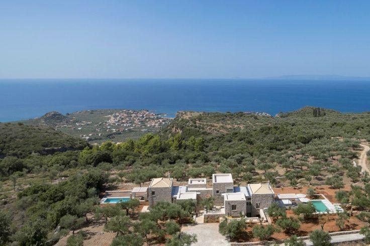Mani, Peloponnese, Greece Sleeps 8 | The Modern House