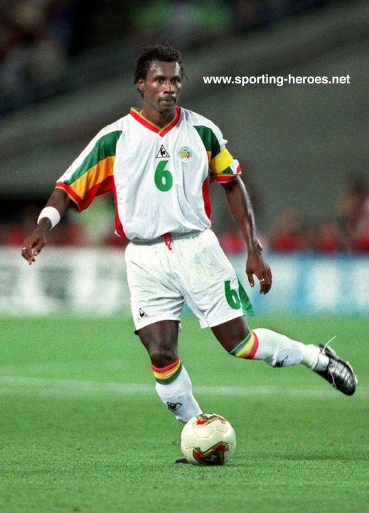 Aliou Cisse - Senegal - FIFA Coupe du Monde 2002