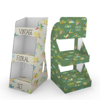 PLV comptoir et présentoirs de table Pixartprinting !  PLV carton et porte brochure pour tous vos modèles de flyers.