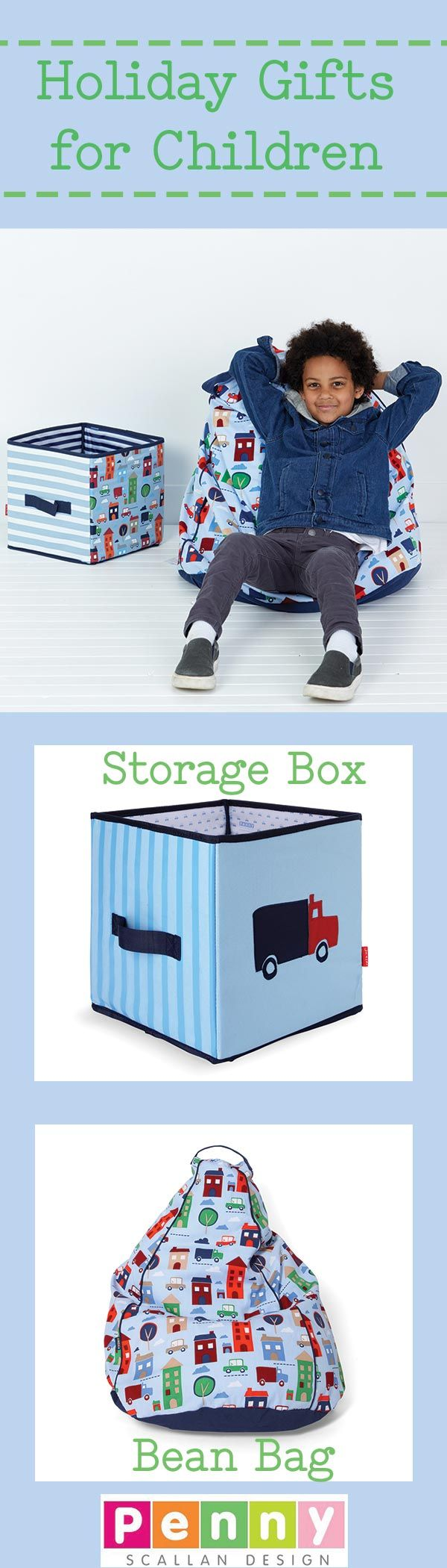 Get ready for the holiday season with all your presents. Buy children's gifts of Storage Box and Bean Bag online in stylish and unique designs.