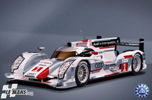 Audi's diesel e-tron quattro cars took the two top spots at the 2012 24 Hours of Le Mans