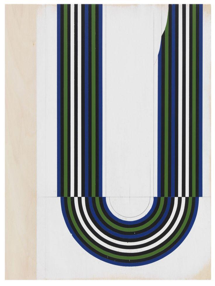 11) Jens Wolf, 12.33, 2012, Acrylic on plywood, 115x86cm