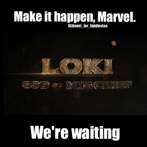 Make it happen, Marvel ! Give him some lady action, while you're at it....he needs a love interest . . . just sayin'