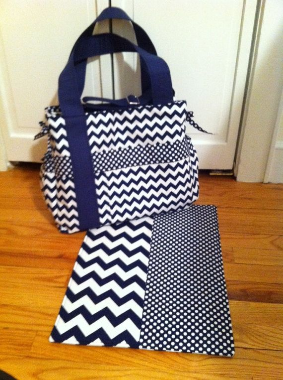 Chevron Baby Boy Diaper Bag Love This For Is His Color Scheme