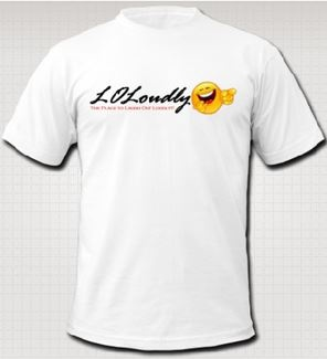 FREE t-shirts from LOLoudly!! It is available worldwide!!!