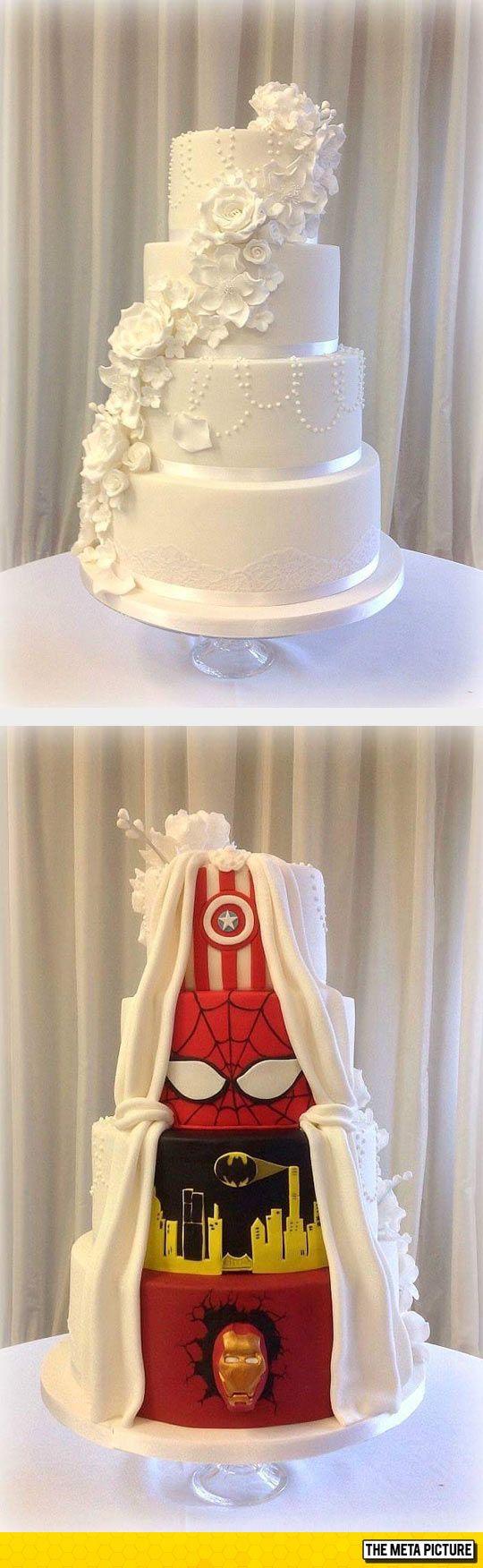 Dual Wedding Cake