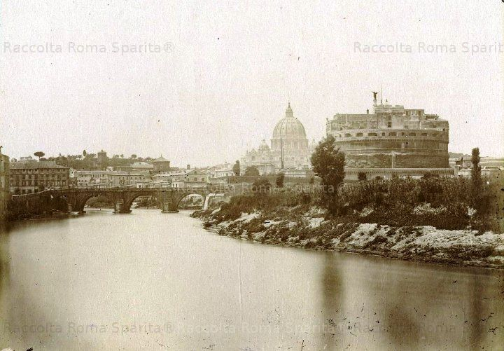 Roma Sparita - Il Tevere, San Pietro e Castel Sant'Angelo
