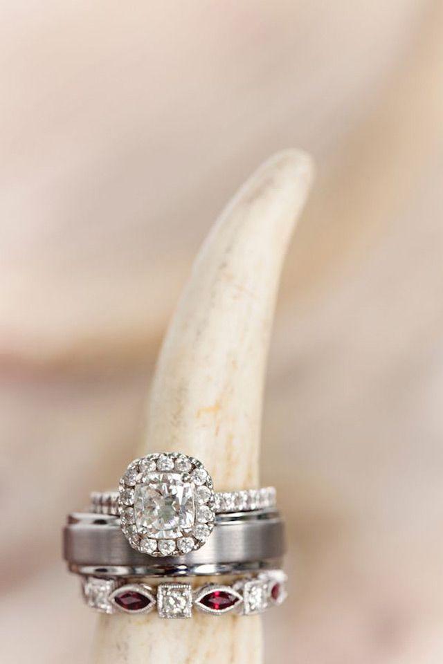 21 Unique Must - Have Wedding Ring Shots ~ 3 ~ we ♥ this! moncheribridals.com