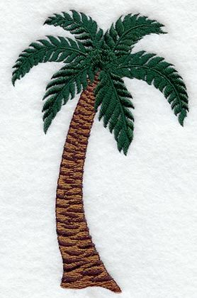 Palm Tree design (K1163) from www.Emblibrary.com