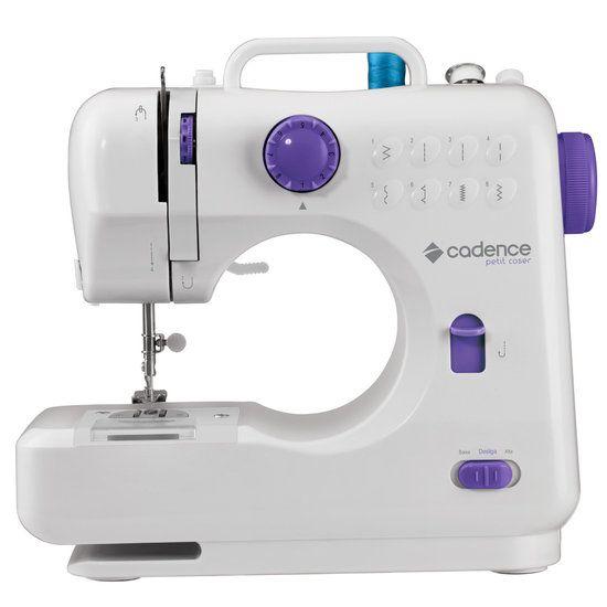 Máquina de Costura Portátil Cadence, 7,2 W, Braço Livre, Petit Coser - CST300