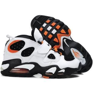 Nike Air CB 34 Charles Barkley Shoes Black/Orange Sport