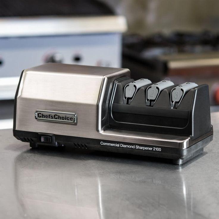 Edgecraft Chef's Choice 2100 3 Stage Diamond Hone Professional Knife Sharpener