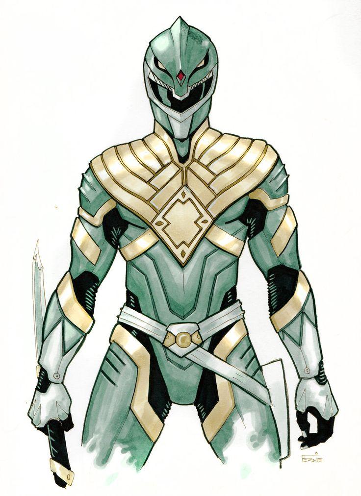 Green Ranger Redux by *Fernie87 on deviantART