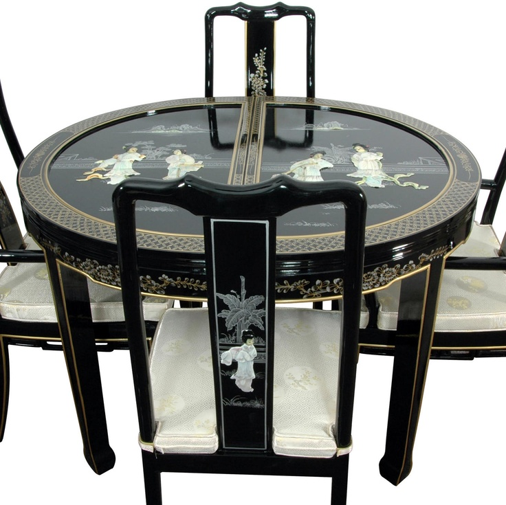 34 best oriental black images on pinterest antique for Oriental furniture and accessories