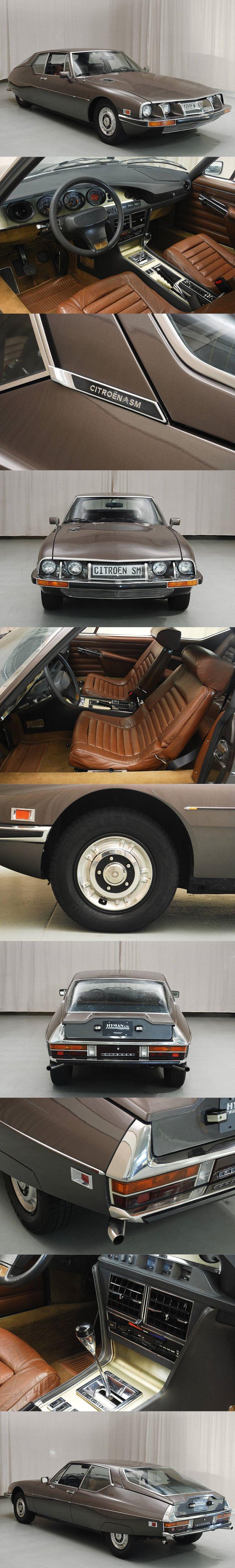 1973 Citroën SM / USA spec / brown smoke grey / France / Maserati V6 / Robert Opron / Hymanltd.com / 17-331