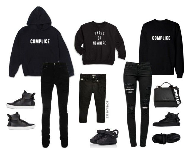 """""""Untitled #836"""" by dianadolce ❤ liked on Polyvore featuring Complice, AMIRI, BUSCEMI, Givenchy, Frame and Knowlita"""