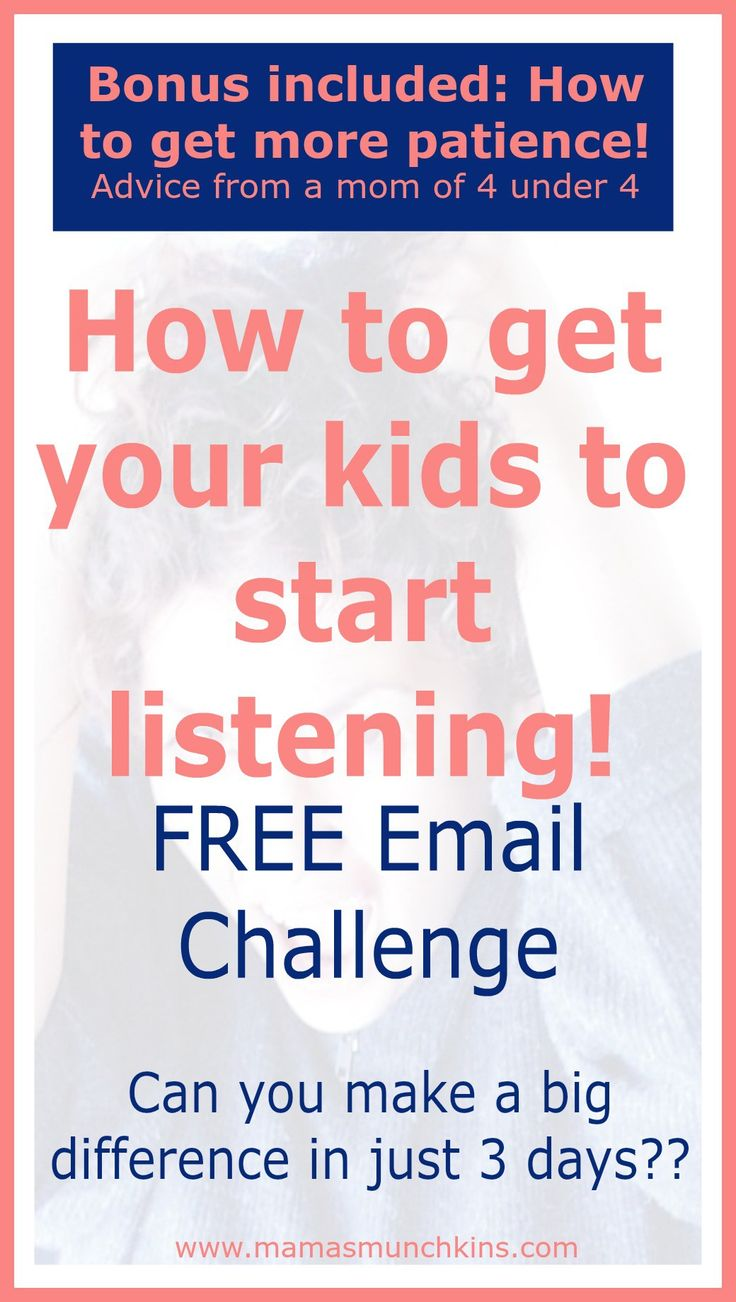 How often do your kids listen? Take control over this and see how big of a difference you can make in just 3 days! Check out my simple solutions!