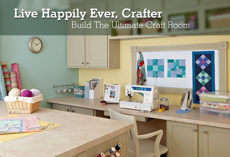Ultimate Craft Room | My Creative Space | Pinterest 736 x 503