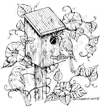 9 Best Draw Birdhouses Images On Pinterest
