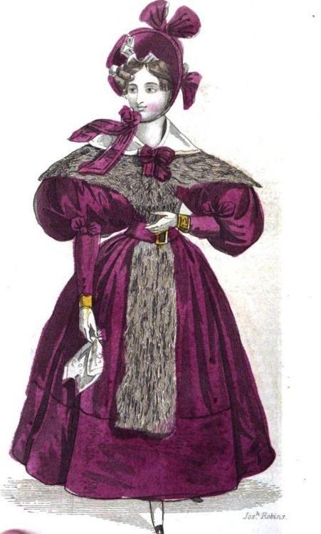 Walking Dress, January 1834