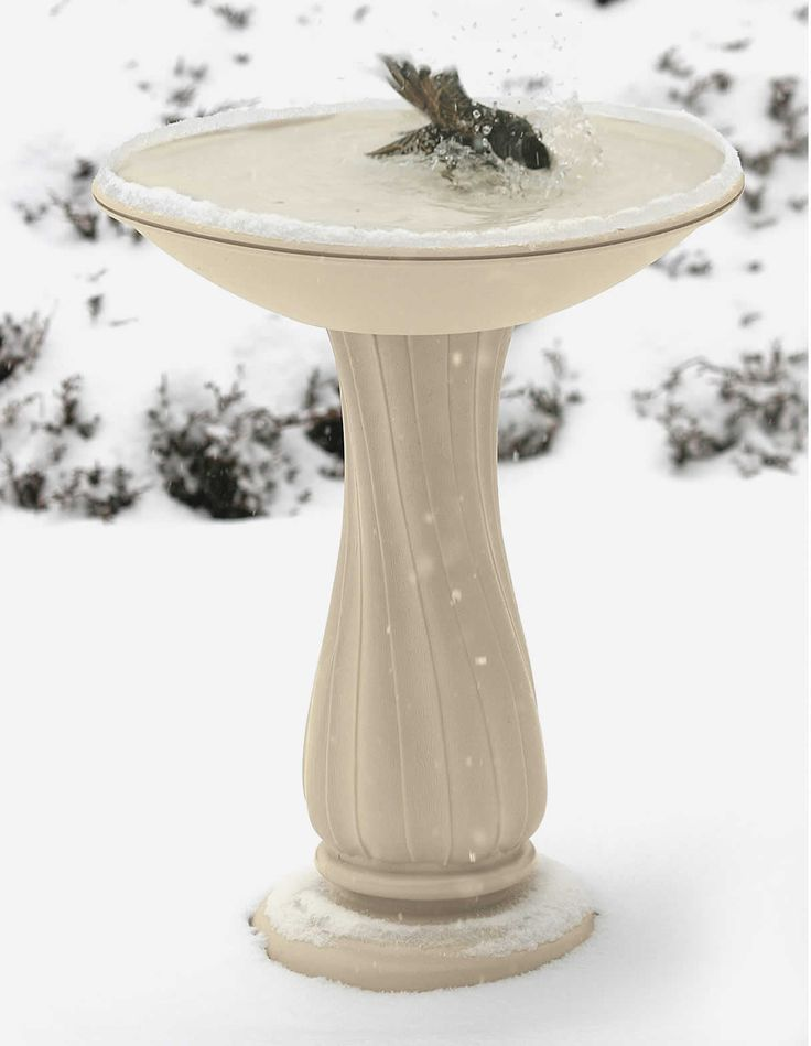 Duncraft.com: All-Seasons Heated Bird Bath $130
