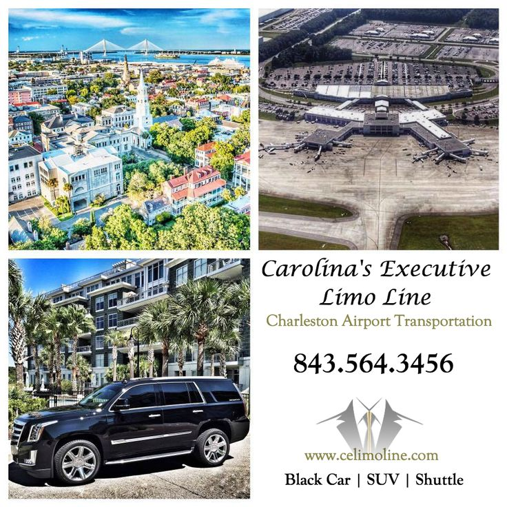 Charleston International Airport Car Service from Carolina's Executive Limo Line. 843.564.3456   http://www.celimoline.com/charleston-airport-car-service