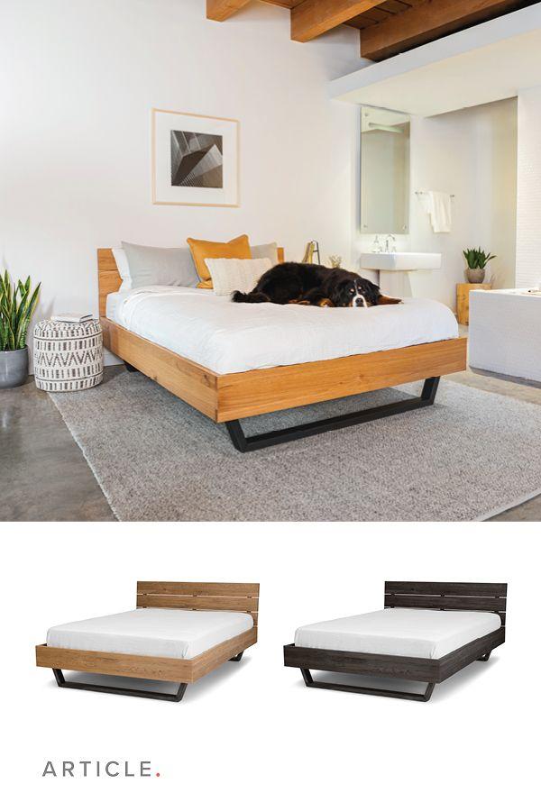 Taiga Oak Queen Bed
