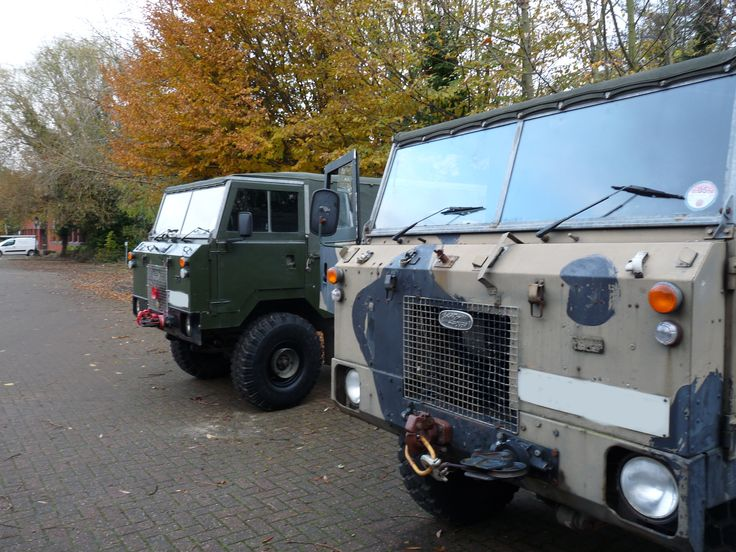 I went with friends out in the 101. Landrover 101.