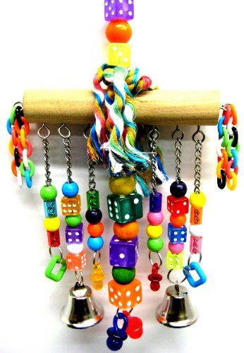Buy it now CHAIN WATERFALL BIRD TOY parrot cage toys cages African grey amazon conure
