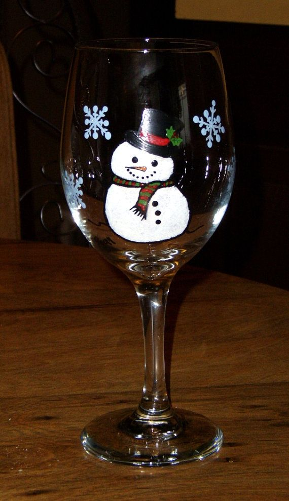 495 best wine glasses images on pinterest christmas