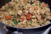 ... -Dinner | Pinterest | Fried Brown Rice, Garlic Chicken and Brown Rice