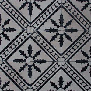 Palmblad - svartvit - Sortiment