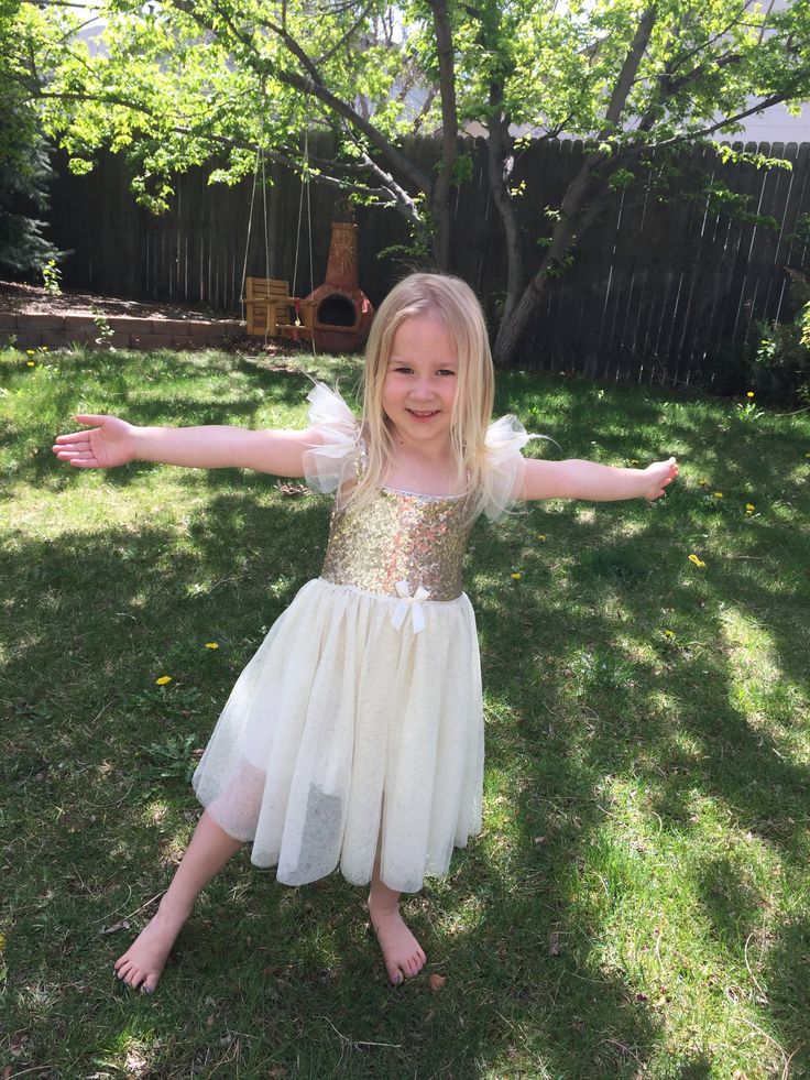 Get your sparkle on!   Every little girl loves a princess dress.