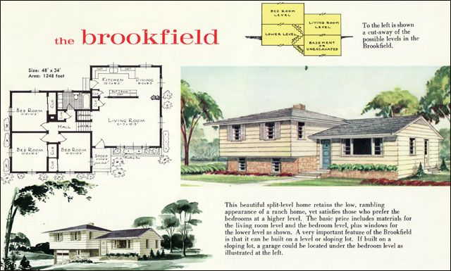 1960s House Styles 1960 Liberty Ready Cut Homes By Lewis