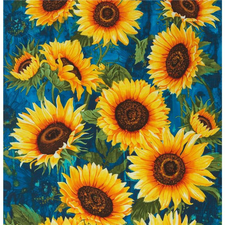New Print!! Sunflowers, Blue - Kitchen Curtains, Bathroom Curtains, Or Bedroom Curtains, Curtain Panels, Valance - Custom, Made To Order by cozyupkc on Etsy