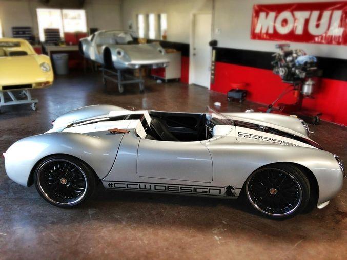 Winding Road | Captured: Carrera CoachWerks Porsche 550 Spyder