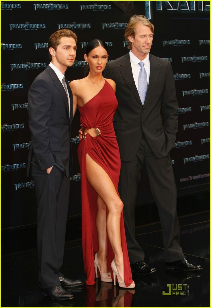 "Megan Fox's red dress at a premiere of ""Transformers"" was a show-stopper. She rocked it."