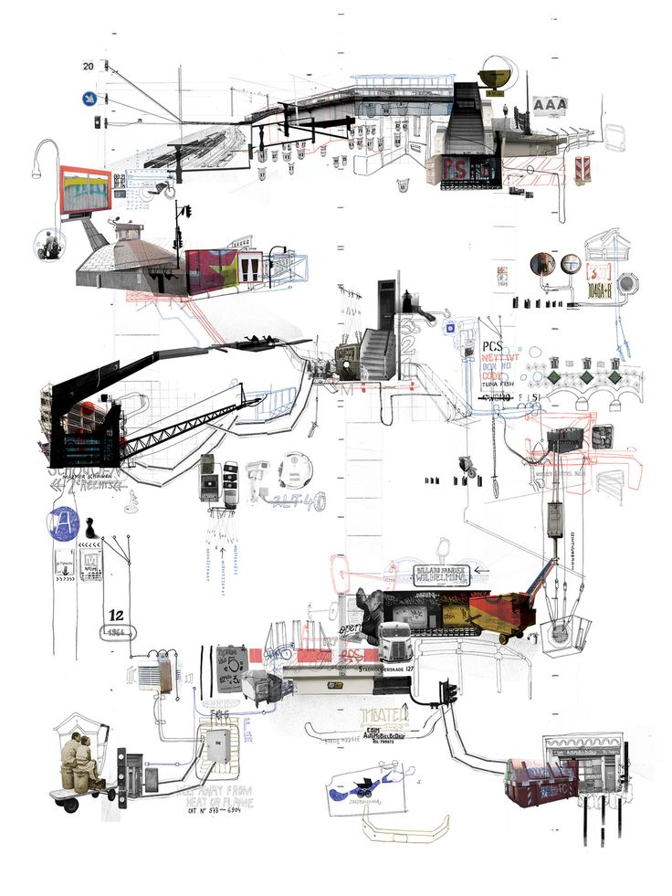 Project 360° (Psychogeographical Maps of Amsterdam)