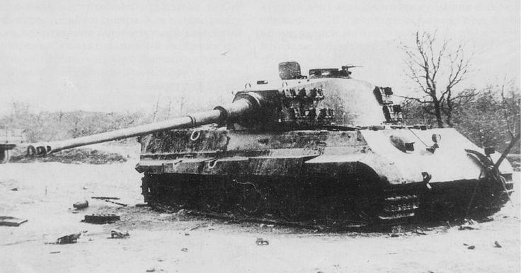 https://flic.kr/p/sdXJGu | A Tiger II destroyed by а 57 mm AT gun.
