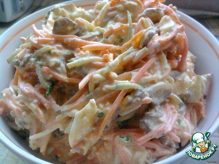 """Салат """"Кореянка"""" ингредиенты"""