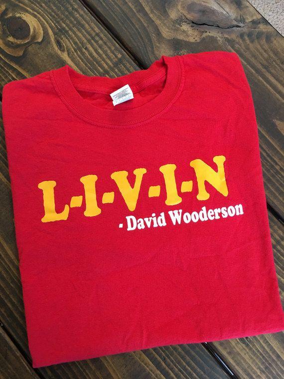 Free Shipping L-I-V-I-N David Wooderson by TealPaisleyDesigns
