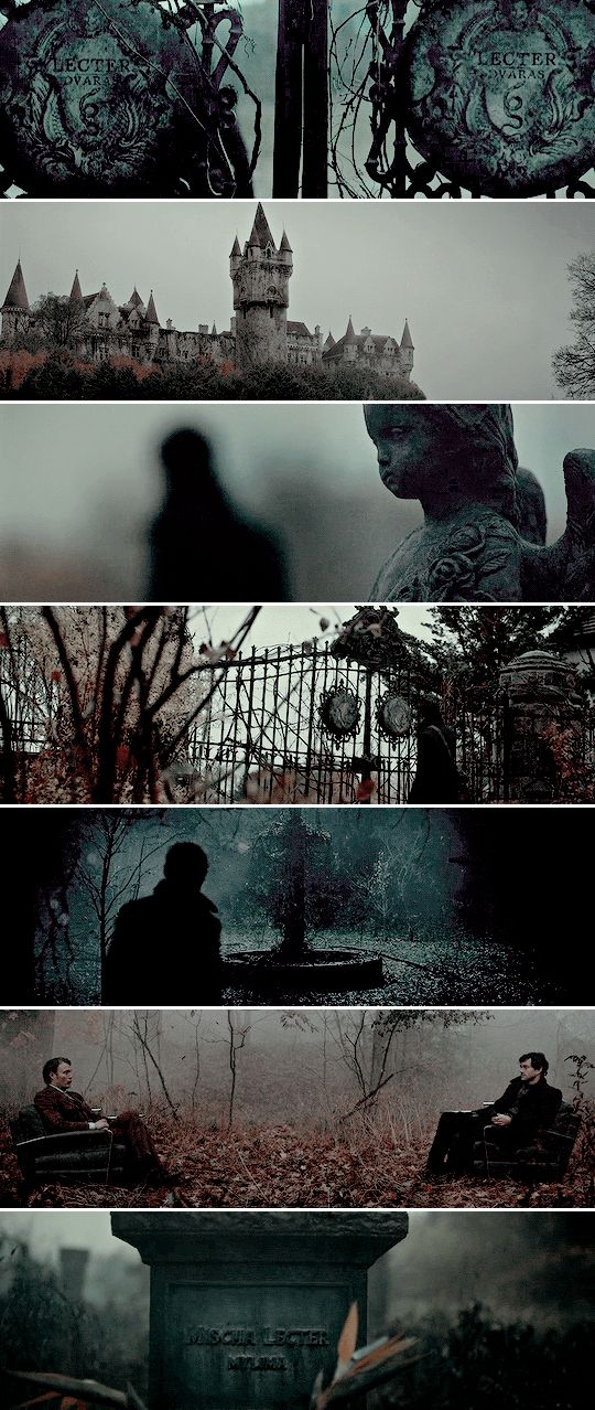 It's not healing to see your childhood home. It will help you measure whether you're broken. #hannibal