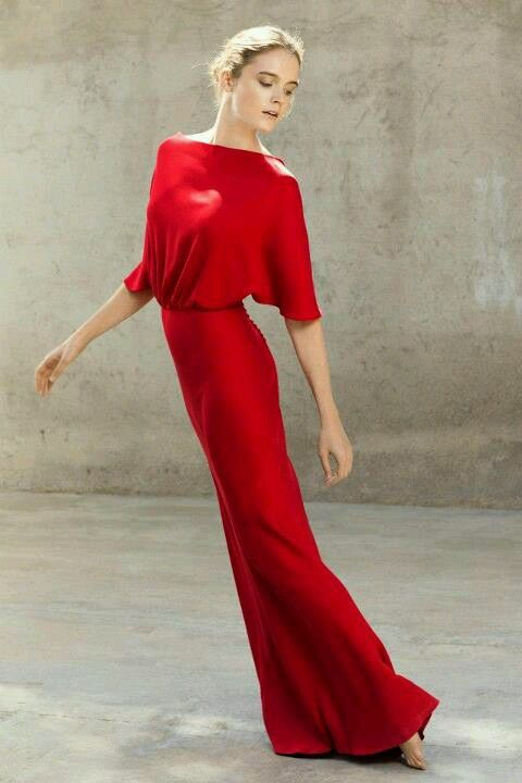 Red dress... just love this
