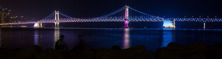 Gwangalli Bridge in Busan, South Korea #2 - Asiatiq