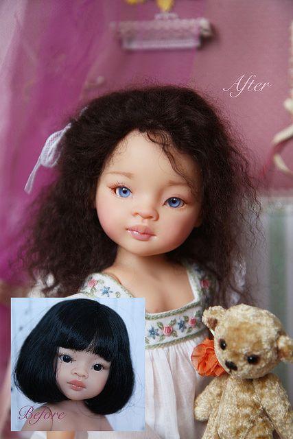 Весенняя девочка Катрина или OOAK куклы Paola Reina / Paola Reina, Antonio Juan и другие испанские куклы / Бэйбики. Куклы фото. Одежда для кукол