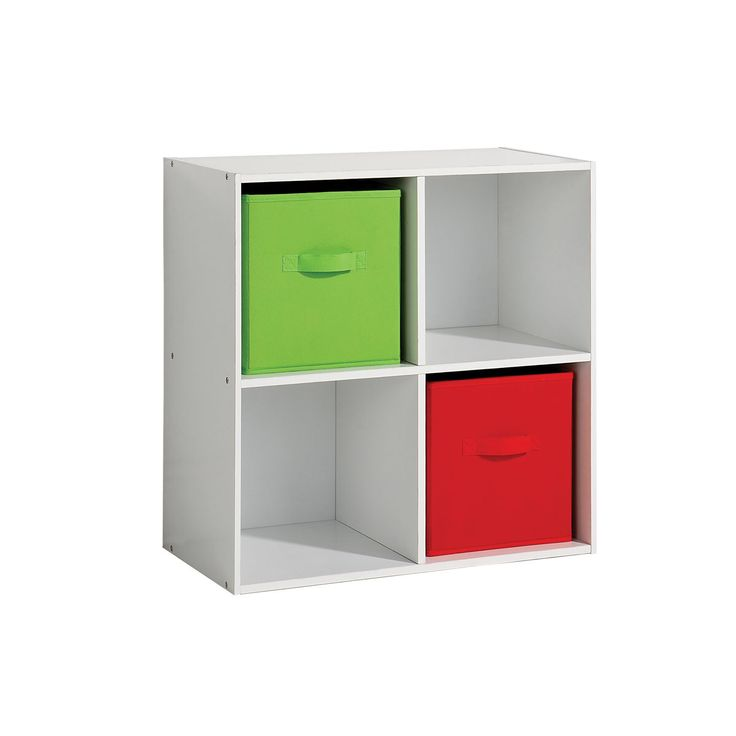 Image From Http Realtruz Wp Content Uploads 2017 01 Design Interior Simplistic Green Plastic Bedroom Storage Units With White Painted Plywood Shelves