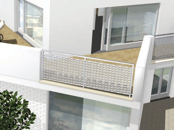 Railing for window and balcony Outdoor railing by ITALFIM