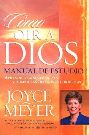 En Cómo oír a Dios , Joyce Meyer enseña cómo reconocer la voz de Dios y entender de las muchas formas en que Él habla usando la P...