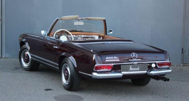 1966 Mercedes Benz Sl Pagode 230 Sl Automatik Mercedes Benz