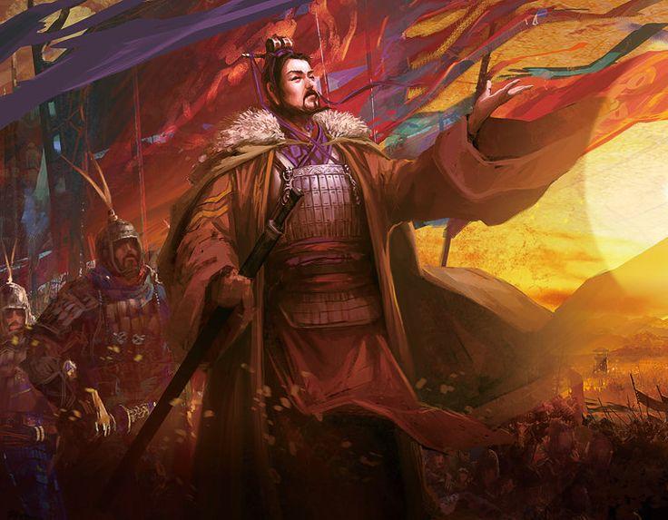 Liu Bang of Han, Chu-Han Contention, China